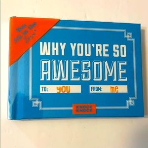 Why You're So Awesome personalization gift book